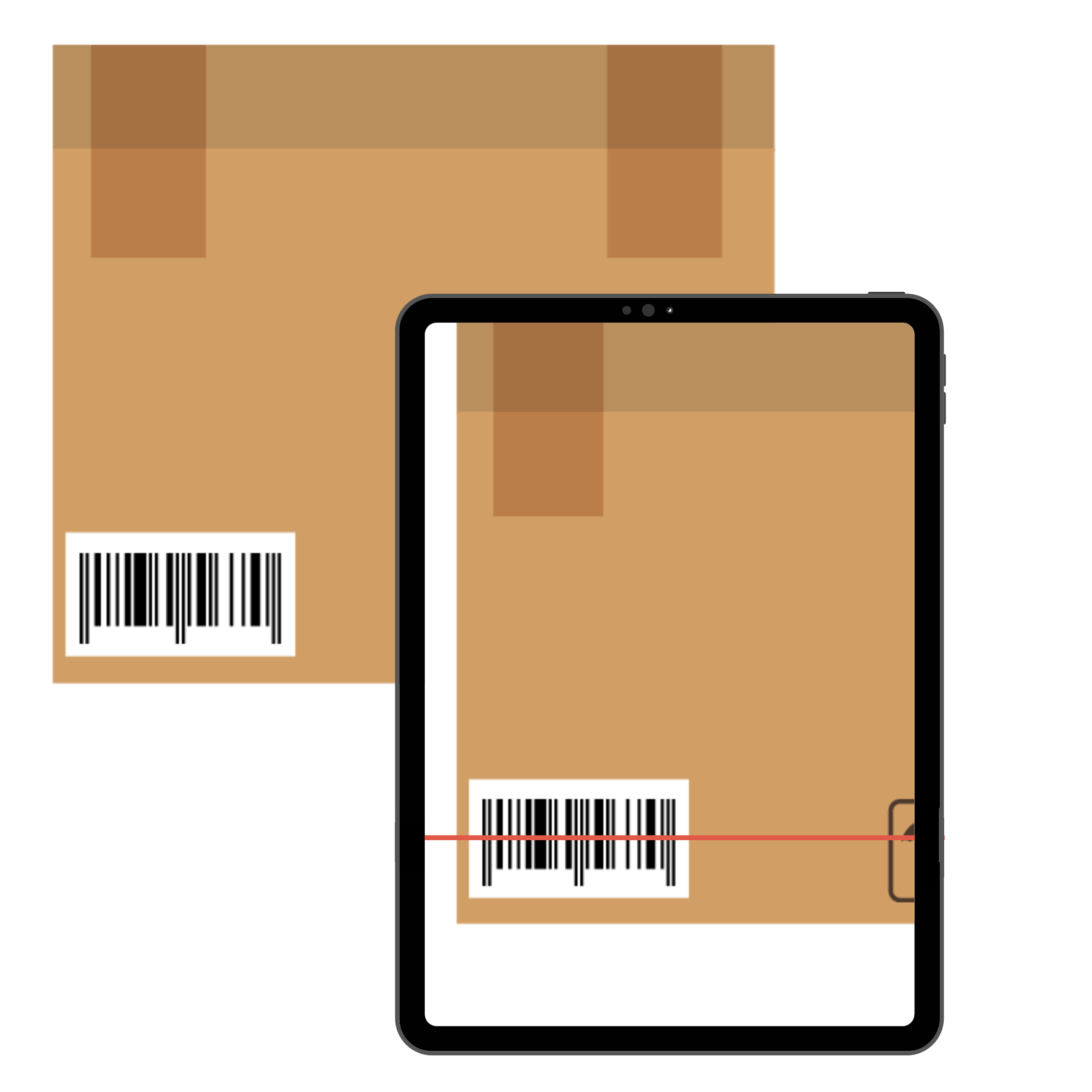 Barcode scanning on mobile form